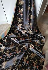 1 M multi coloured dragon Design Chinese Brocade Fabric 45 inch Wide
