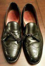 Allen Edmonds Manchester 9.5 B Oxford Formal  Loafers Made in USA