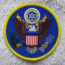 """UNITED STATES OF AMERICA PATCH President Seal 3.5"""" 9cm Badge/Emblem/Insignia USA"""