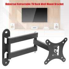 Universal Retractable TV Rack Holder Wall Mount Bracket 17 to 32 in LCD Monitor