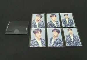 BTS WING TOUR FINAL CONCERT OFFICIAL JIN Photocard set