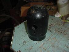Vintage Oxygen Acetylene Tank Cap Machine Age Decor Chippy Black Paint