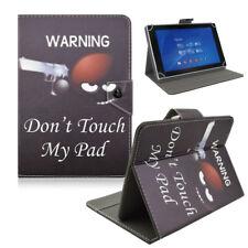 Schutzhülle für Sony Xperia Z2 Tablet Tasche Etui Case schwarz Cover Don't Touch