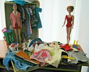 Vintage Barbie Ken Mixed Assorted Lot Bundle Dolls Clothes Shoes & More!
