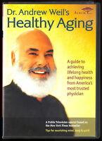 DR ANDREW WEIL HEALTHY AGING WELL DVD a guide to lifelong health & happiness