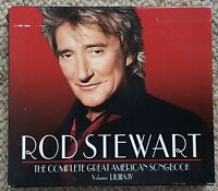 ROD STEWART - THE COMPLETE GREAT AMERICAN SONGBOOK - OZ SONY 4CD BOX SET - 2007