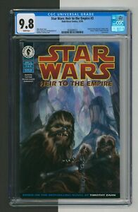 Star Wars Heir to the Empire #3, CGC 9.8 NM/M WHITE Pages, Dark Horse Comic 1995