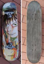 Skateboard Kicktail Hudora Anime 80cm Comic Figur Rollbrett bunt Komplettboard