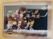 1992-93 Upper Deck ALL TEAM ROOKIE TRIPLE EXPOSURE Joe Juneau Boston Bruins #282