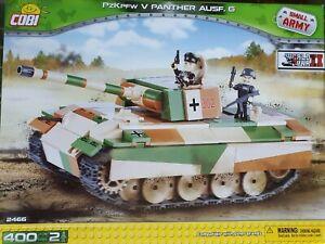 Cobi  2466 - Panzer V PANTHER Ausf. G (Erstauflage) gebraucht mit OVP