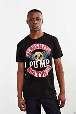 Trunk LTD Mens Black Aerosmith Boston Pump Destroyed T-Shirt Rock NEW Sz *S