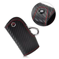 Universal Car Smart Leather Cover Holder Key Case Chain Keyless Fob Remote