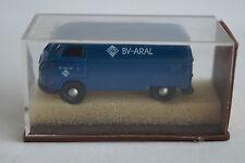 Brekina voiture miniature 1:87 h0 vw t1 BV-Aral