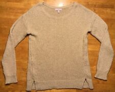 Banana Republic Women's Brown Long Sleeve Sparkly Oversize Sweater - Size Medium