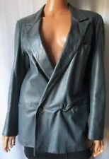 ***ARTI E MESTIERI GIACCA Jacket TG.46 Vera pelle Genuine Leather Morbidissima!