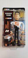 NASCAR Tony Stewart #20 Bendable Figure, Bobble Dobbles, Home Depot BRAND NEW