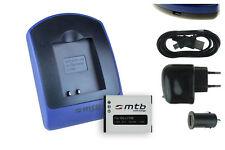 Baterìa+Cargador (USB) Li-70B para Olympus FE-4040, 5040 / VG-110, 120, 130
