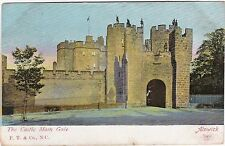 The Castle Main Gate, ALNWICK, Northumberland