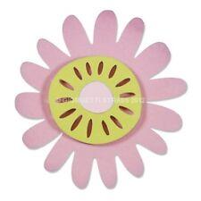 Fustella 2 fustelle thinlits fiore fiori di campo flower Big Shot Sizzix 660810