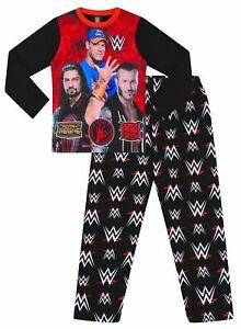 WWE World Wrestling Entertainment Champions 5 to 12 Years Long Pyjamas