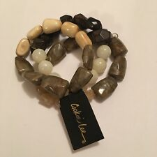 Costume Jewelry Bracelets Beaded Cookie Lee. Price Tag Crossed Out