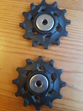 Sram X SYNC 11 speed Jockey Wheels Hardly Used xsync Thick Thin
