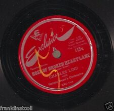 Charles Lind on 78 rpm Exclusive 115X: I Love You Just the Same/Rose of Broken