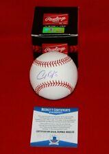 ALEX BREGMAN Houston Astros autographed signed Baseball BECKETT COA