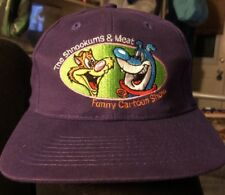 The Shnookums and Meat Funny Cartoon Show 1995 Animated TV Series Ball Cap Hat