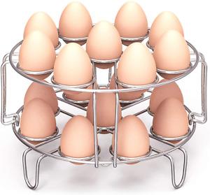 Packism Egg Steamer Rack, Steaming Rack Fit 6,8Qt Instant Pot Accessories Air Fr