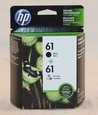 61 HP BLACK & COLOR ink - DeskJet 3521 3512 3511 3510 3050 3054 3000 2546 2542