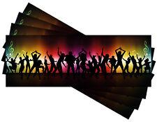 30 PCS Invitation Cards for Birthday Ticket Card Invitation Ticket Top
