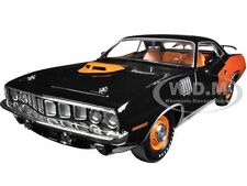 1971 PLYMOUTH CUDA HEMI BLACK 50TH ANNIVERSARY 1/24 M2 MACHINES 40300-46B