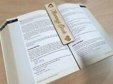 Personalised Wooden Bookmark Birthday Christmas Teachers Gift Mum Dad Gifts