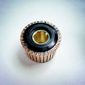 13mm x 36.8mm x 24.5mm 32 Gear Tooth Copper Shell Mounted Commutator AHY-3305-32
