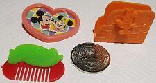 Vintage VERY RARE Disney Toys by Morinaga Japan 1970s Candy Premiums Minnie Coin