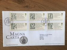 GB Cotswold FDC Magna Carta  2015