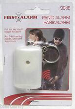Schlüsselanhänger Taschenalarm 90 dB Panikalarm Personenalarm Handtaschenalarm