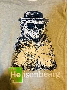 AUTHENTIC NWT Abercrombie & Fitch Heinsennearg Breaking Bad Heisenberg T-Shirt M