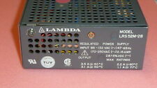 NEW LAMBDA LRS-52M-28 REGULATED Power Supply INPUT 85-132 VAC(~) 47-63Hz 2.15AMP