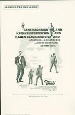 Cisco Pike  1972 press book  Kris Kristofferson, Karen Black, Gene Hackman