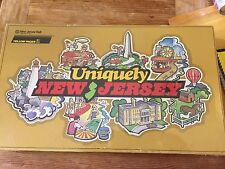 UNIQUELY NEW JERSEY, 1986 sponsored by N.J. Bell, for Union Hospital, sealed new
