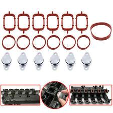 6x 32mm Bouchon Clapet Volet Admission joint collecteur swirl flap Pour BMW 330d