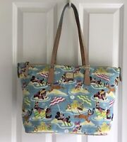 Disney Dooney & Bourke Nylon Aulani Beach Tote Handbag Pre-Owned