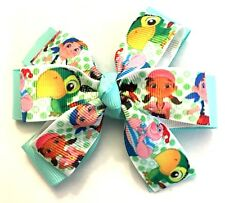 Jake And The Never Land Pirates Inspired Hair Bow Girl's Toddler Baby Barrette