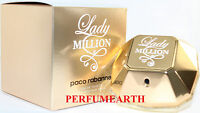 LADY MILLION 2.7 OZ EDT SPRAY FOR WOMEN BY PACO RABANNE NEW IN A BOX