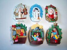 CHRISTMAS NUT SHELLS & PENDANTS 98 KINDER SURPRISE FIGURES TOYS XMAS DECORATION