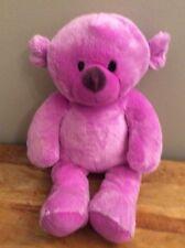 """Chad Valley Designabear 14"""" Pink Teddy Bear Soft Toy"""