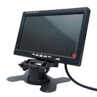 "9"" Car Wireless Reversing Camera Monitor Rear View Kit CCD Reverse 12V 24V AU"