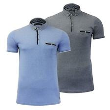 """Mens Polo T Shirt Brave Soul """"Kaiko"""" Collared Short Sleeve Top Tee"""
